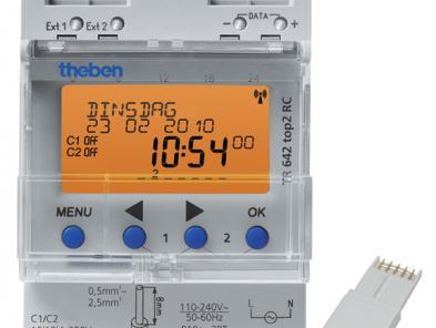 Digitale Theben timer met DCF functie