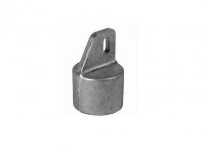Einddoppen aluminium