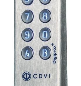 Proximitylezer RVS Bi-technologie