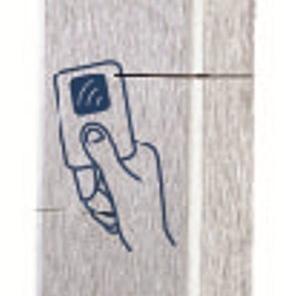 Proximitylezer RVS rechthoek
